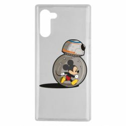 Чохол для Samsung Note 10 BB-8 and Mickey Mouse