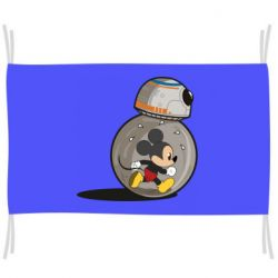 Прапор BB-8 and Mickey Mouse