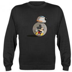 Реглан (свитшот) BB-8 and Mickey Mouse