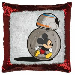 Подушка-хамелеон BB-8 and Mickey Mouse