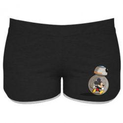 Женские шорты BB-8 and Mickey Mouse