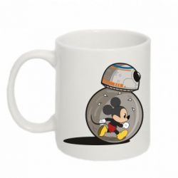 Кружка 320ml BB-8 and Mickey Mouse
