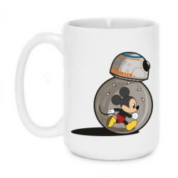 Кружка 420ml BB-8 and Mickey Mouse