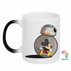 Кружка-хамелеон BB-8 and Mickey Mouse