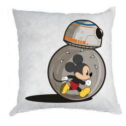 Подушка BB-8 and Mickey Mouse