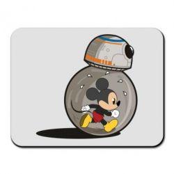 Килимок для миші BB-8 and Mickey Mouse