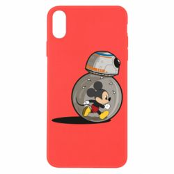 Чохол для iPhone X/Xs BB-8 and Mickey Mouse