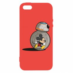 Чохол для iphone 5/5S/SE BB-8 and Mickey Mouse