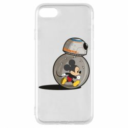 Чохол для iPhone 7 BB-8 and Mickey Mouse