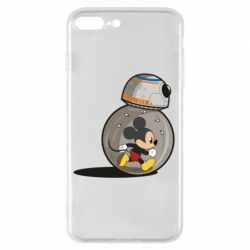 Чохол для iPhone 8 Plus BB-8 and Mickey Mouse