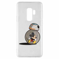 Чехол для Samsung S9+ BB-8 and Mickey Mouse