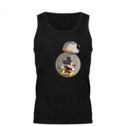 Мужская майка BB-8 and Mickey Mouse