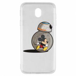 Чехол для Samsung J7 2017 BB-8 and Mickey Mouse