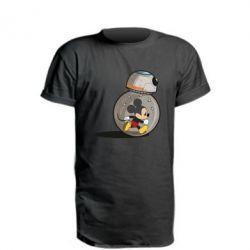 Удлиненная футболка BB-8 and Mickey Mouse