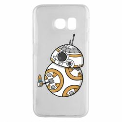 Чехол для Samsung S6 EDGE BB-8 Like