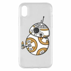 Чехол для iPhone X/Xs BB-8 Like