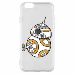 Чехол для iPhone 6/6S BB-8 Like