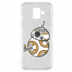 Чехол для Samsung A6 2018 BB-8 Like