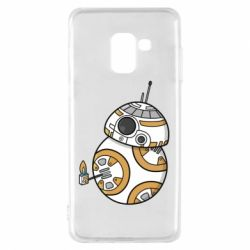 Чехол для Samsung A8 2018 BB-8 Like