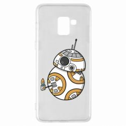Чехол для Samsung A8+ 2018 BB-8 Like