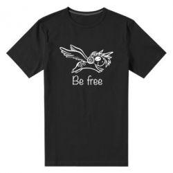 Чоловіча стрейчева футболка Be free unicorn