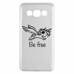 Чохол для Samsung A3 2015 Be free unicorn