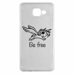 Чохол для Samsung A5 2016 Be free unicorn