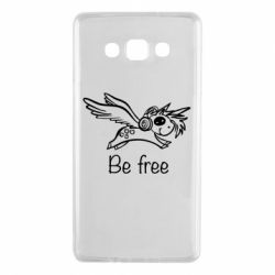 Чехол для Samsung A7 2015 Be free unicorn