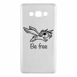 Чохол для Samsung A7 2015 Be free unicorn
