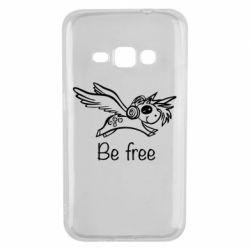 Чохол для Samsung J1 2016 Be free unicorn