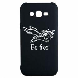 Чохол для Samsung J7 2015 Be free unicorn
