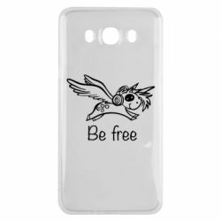 Чехол для Samsung J7 2016 Be free unicorn