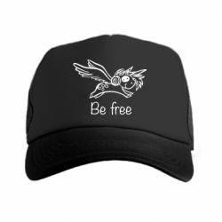 Кепка-тракер Be free unicorn