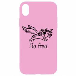 Чохол для iPhone XR Be free unicorn