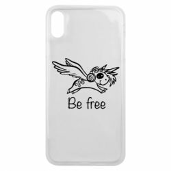 Чохол для iPhone Xs Max Be free unicorn
