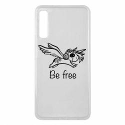 Чохол для Samsung A7 2018 Be free unicorn