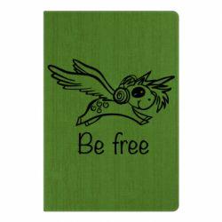 Блокнот А5 Be free unicorn