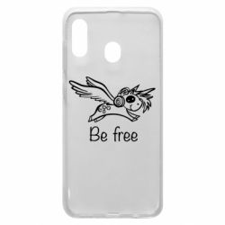 Чохол для Samsung A30 Be free unicorn