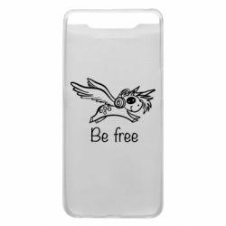 Чохол для Samsung A80 Be free unicorn
