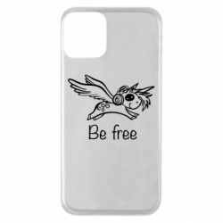 Чехол для iPhone 11 Be free unicorn