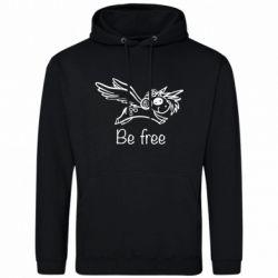 Чоловіча толстовка Be free unicorn