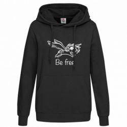 Толстовка жіноча Be free unicorn