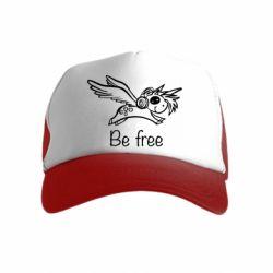 Дитяча кепка-тракер Be free unicorn