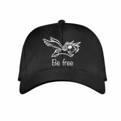 Дитяча кепка Be free unicorn