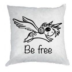 Подушка Be free unicorn