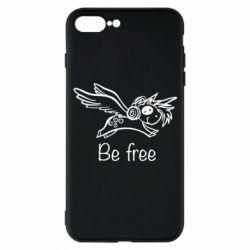 Чохол для iPhone 7 Plus Be free unicorn