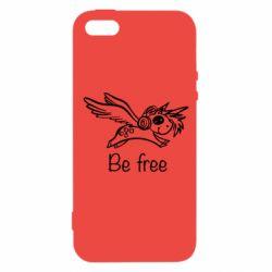 Чохол для iphone 5/5S/SE Be free unicorn