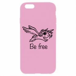 Чехол для iPhone 6/6S Be free unicorn