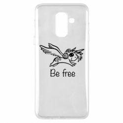 Чохол для Samsung A6+ 2018 Be free unicorn
