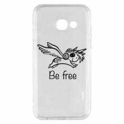 Чохол для Samsung A3 2017 Be free unicorn